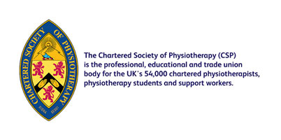 Marie Fell is Registered with the Chartered Society of Physiotherapists