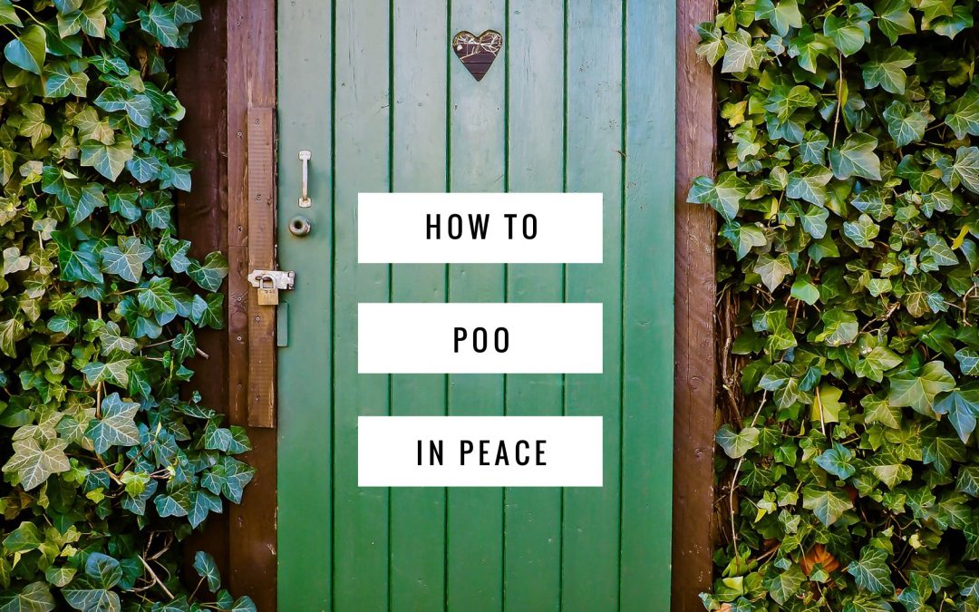 How to poo in peace