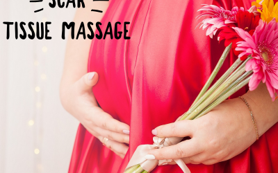 Caesarean section scar tissue massage