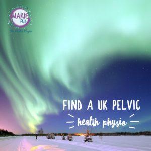 find a pelvic health physio