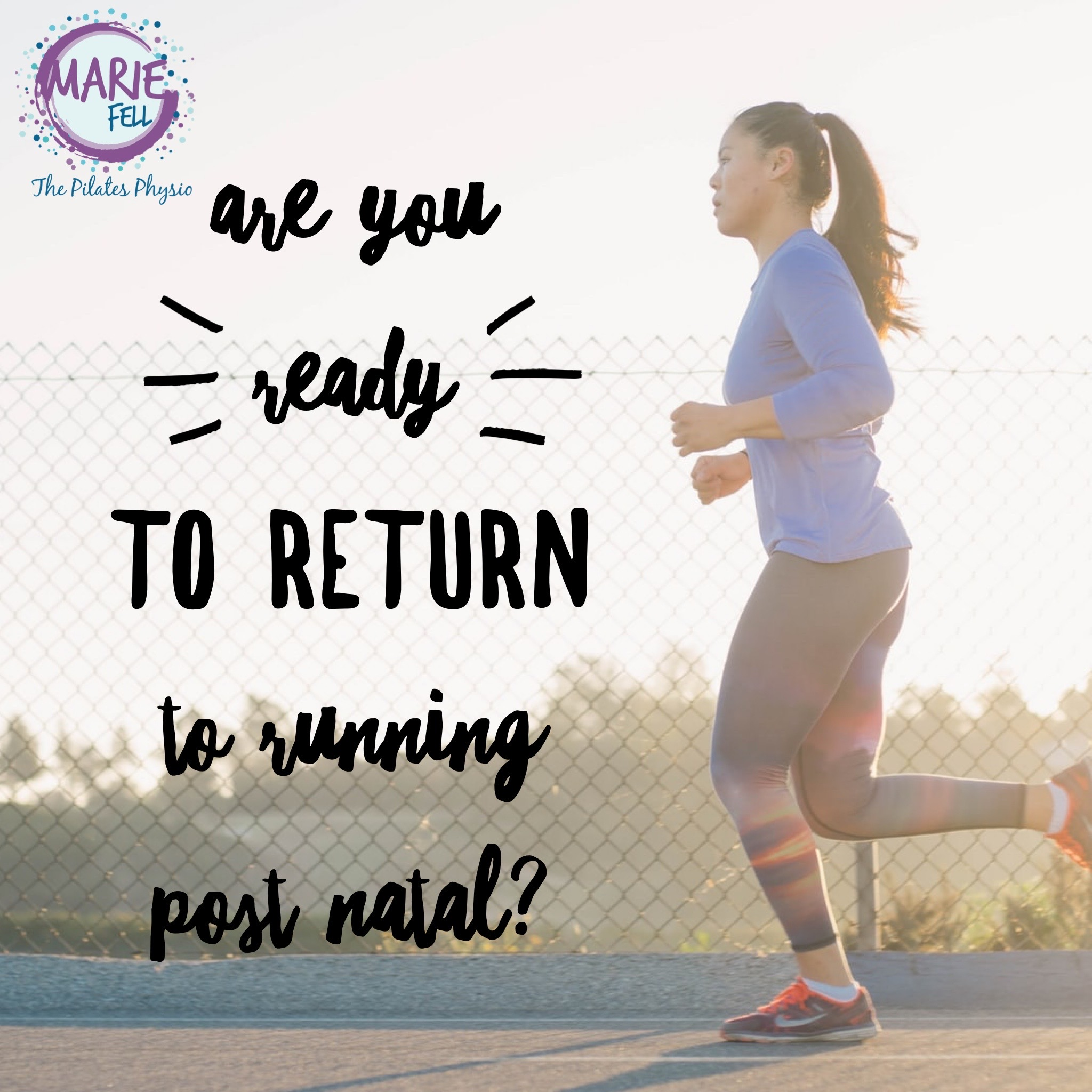 return to running post natal